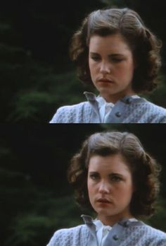 """Elizabeth McGovern in """"Racing With The Moon"""" She's so beautiful..."""