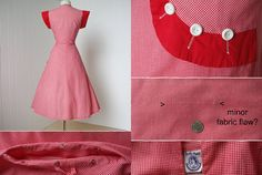 Your place to buy and sell all things handmade African Traditional Wedding Dress, Red Gingham, 1940s Dresses, Maid, All Things, Buy And Sell, Summer Dresses, My Style, Handmade