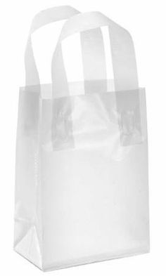 Clear Shoppers, Clear Shopping Bags in Stock - ULINE | Display ...