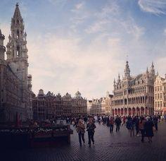 La Grand Place, Brussels, Belgium