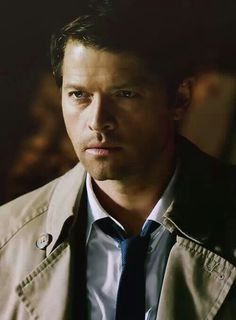 A very sexy Castiel appears
