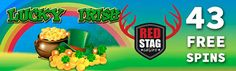 RED STAG NO DEPOSIT BONUS - 43 FREE SPINS FOR NEW PLAYERS  New players can get started with 43 FREE SPINS at Red Stag until August 7th!