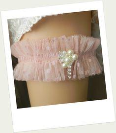 Wedding Garter Belt, Bridal Garter Belt, Garter, Tulle Garter, Polka Dot Garter, Garters, Wedding Garter, Bridal Garter, Elastic Garter