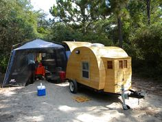 Our Teardrop Camper :)