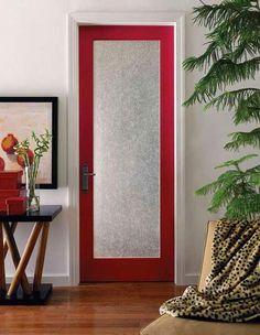 Frosted glass door for ensuite? gambar-pintu-kaca-kamar-mandi-glossy-maroon