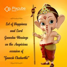 #pixcubestudio wishing you Happy Ganesh Chaturthi #GaneshChaturthi #LordGanesha #ganpatibappamorya
