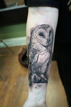 Owl tattoo #inspiration