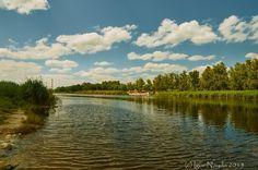 Uda River. New Bavaria. Kharkov. Ukraine by Igor Nayda