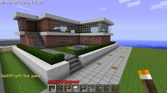 Miraculous good ideas for minecraft houses modern house designs exterior sliding glass walls Minecraft Villa, Minecraft Mansion, Minecraft Houses For Girls, Minecraft Houses Xbox, Minecraft House Tutorials, Minecraft Houses Survival, Minecraft Houses Blueprints, Minecraft House Designs, House Blueprints