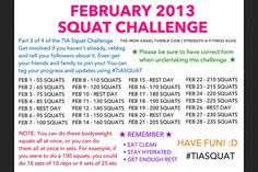 Squat challenge that's only 28 days @Heather Creswell Creswell Scheel