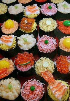 寿司 / Sushi Way of Working Motivation Mindwalker Sushi Love, Sushi Sushi, Sushi Art, Sushi Japan, Sushi Lunch, Sushi Recipes, Cooking Recipes, Snacks, I Love Food