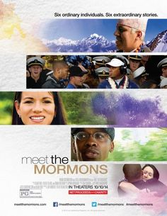 Got to go see this movie! I encourage EVERYONE to go see it. #meetthemormons #mommydaughterdate #verytouching