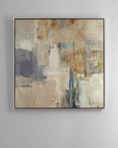 Rendezvous  Abstract Giclee on Canvas Wall Art