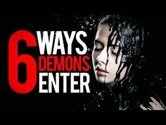 6 WAYS DEMONS ENTER | Protect YOUR Family from these Spirits - YouTube John 8, Beautiful Flowers Wallpapers, James 1, King James Bible, Dream Quotes, Motivational Videos, Evil Spirits, Spiritual Warfare, Bible Studies