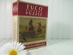 Vintage Tuco Picture Puzzle  One of Twenty Four by DivineOrders, $23.00