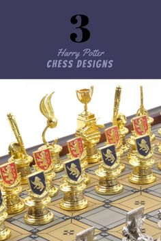 Harry Potter Chess Board - Beautiful Chess Pieces , King and Queen Set looks like Art, selection of best looking harry potter chess boards, video of harry potter chess scene, some DYI harry potter chess sets #harrypotter #luxury #harrypotterchess #coolchess