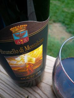 Brunello di Montalcino - you can never go wrong with Banfi