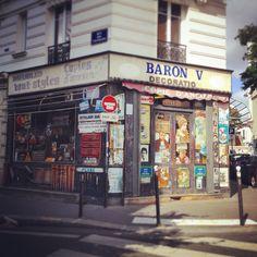 Old Store in Paris