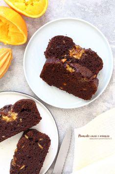 plumcake cacao e arancia Cacao, Sweet Recipes, Muffin, Breakfast, Desserts, Food, Instagram, Chocolates, Morning Coffee