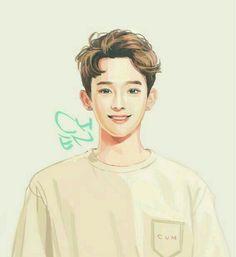 Exo: Chen; Fan Art. [K-pop]