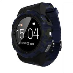 Free Shipping Waterproof Sport Camera Smartwatch IOS Android Bluetooth Smart Watch with Sim Card for Call Text MP3 Music Heart r
