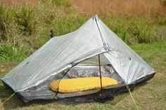 ZPacks.com Ultralight Backpacking Gear - Hexamid Twin Tent | Roomy solo, minimalist duo