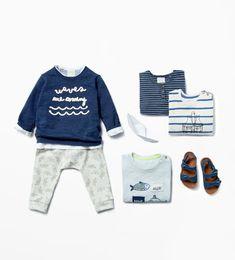 Baby boy months - 3 years)-kids zara canada a sextuplet/ Toddler Boy Fashion, Fashion Kids, Toddler Outfits, Baby Boy Outfits, Toddler Boys, Look Zara, Zara Boys, Stylish Kids, Cute Baby Clothes