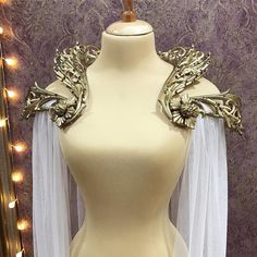 """3,456 Likes, 93 Comments - Haute Goth & Dark Couture (@alicecorsets) on Instagram: """"First #costumecollar ✨it's not for sale, it's a custom order ✨ Collars with very similar design…"""""""