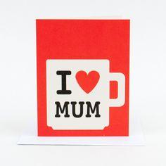 Mum Mug Greeting Card