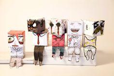 Box dolls: gathering by ~TigerSound on deviantART