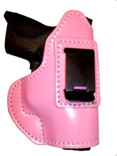 There is also a Pink Lady Holster being distributed by Mainly Shield and Wallet. I wrote the press release for this holster and I am sure women looking for pink guns would also like a pink holster.