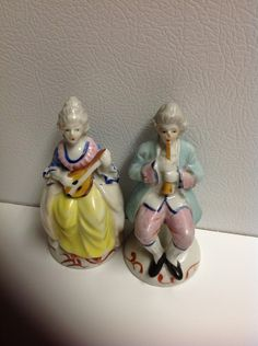 Made in occupied Japan figurines