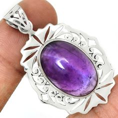Amethyst 925 Sterling Silver Pendant Jewelry AMCP1563 Leaf Jewelry, Stone Jewelry, Pendant Jewelry, Jewelry Sets, Jewelry Necklaces, Silver Hoop Earrings, Sterling Silver Pendants, Gemstones, Cork Ireland