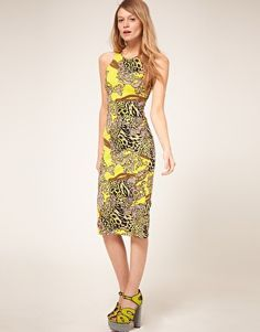 ASOS barocco #print #dress
