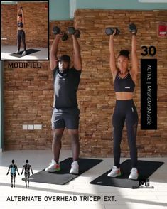 A full body HIIT workout — no equipment required Improve heart health, increase fat loss and strengthen and tone your muscles . Exercise Fitness, Fitness Workout For Women, Physical Fitness, Fitness Tips, Muscle Fitness, Full Body Hiit Workout, Gym Workout Videos, Gym Workouts, Fitness Studio Training