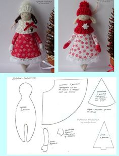 Doll angel pattern or just-a-doll patterncute angel cloth dolls,very nice For Angel mobile .suggestion for wings on dolls Doll Crafts, Diy Doll, Sewing Crafts, Fabric Toys, Fabric Crafts, Paper Toys, Doll Clothes Patterns, Doll Patterns, Sewing Dolls