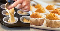 Vláčne, maslové cesto na 12 krásnych mafinov, ktoré vždy vyjdú. Mini Cupcakes, Breakfast, Food, Hampers, Morning Coffee, Essen, Meals, Yemek, Eten