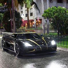 Koenigsegg Hundra In Monaco