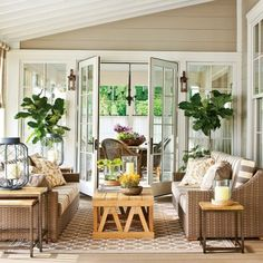 Creative Ideas for Outdoor Fabric:  Indoor Style
