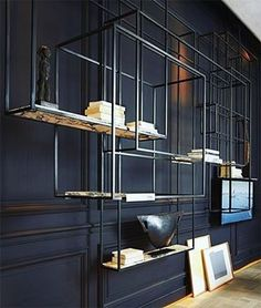 Awesome Industrial Wall Racks