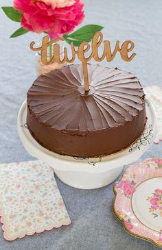 Torta alfajor de chocolate