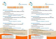 Programme Conseil Formation Création à télécharger
