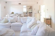 Rachel Ashwell designed...I want this couch.