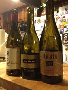 Seriously spoiled... 3 GREAT #SYV Pinot Noirs in one night! #Melville, #KenBrown, #Tantara... TRIFECTA! Life is good. xoxo