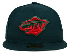 Custom Minnesota Wild 59Fifty Fitted Cap by NEW ERA x NHL