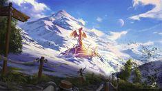 Hidden Dragon, Simon Pape on ArtStation at https://www.artstation.com/artwork/ROQVX