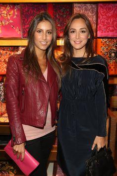 Támara Falcó y Ana Boyer Elie Saab, Friends Come And Go, Sister Act, Semi Casual, Princesa Diana, Fashion Beauty, Sisters, Leather Jacket, My Style