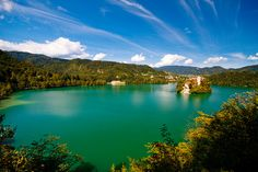 Lake Bled, most known turist destination in Slovenia