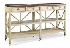 Hickory White - 863-31 Console Table