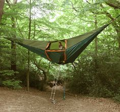 Suspended Camping Tent. OK this is cool.